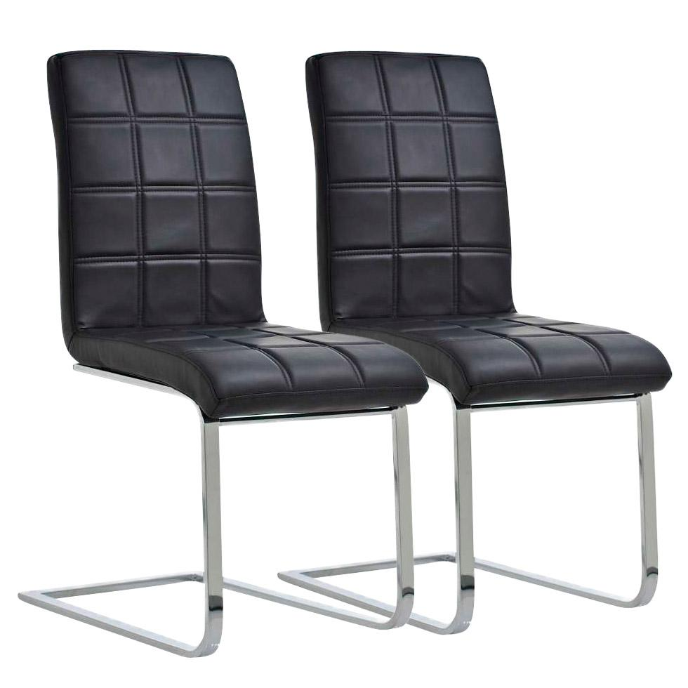 Lote 2 sillas de comedor o cocina bielsa dise o exclusivo for Sillas de piel para comedor