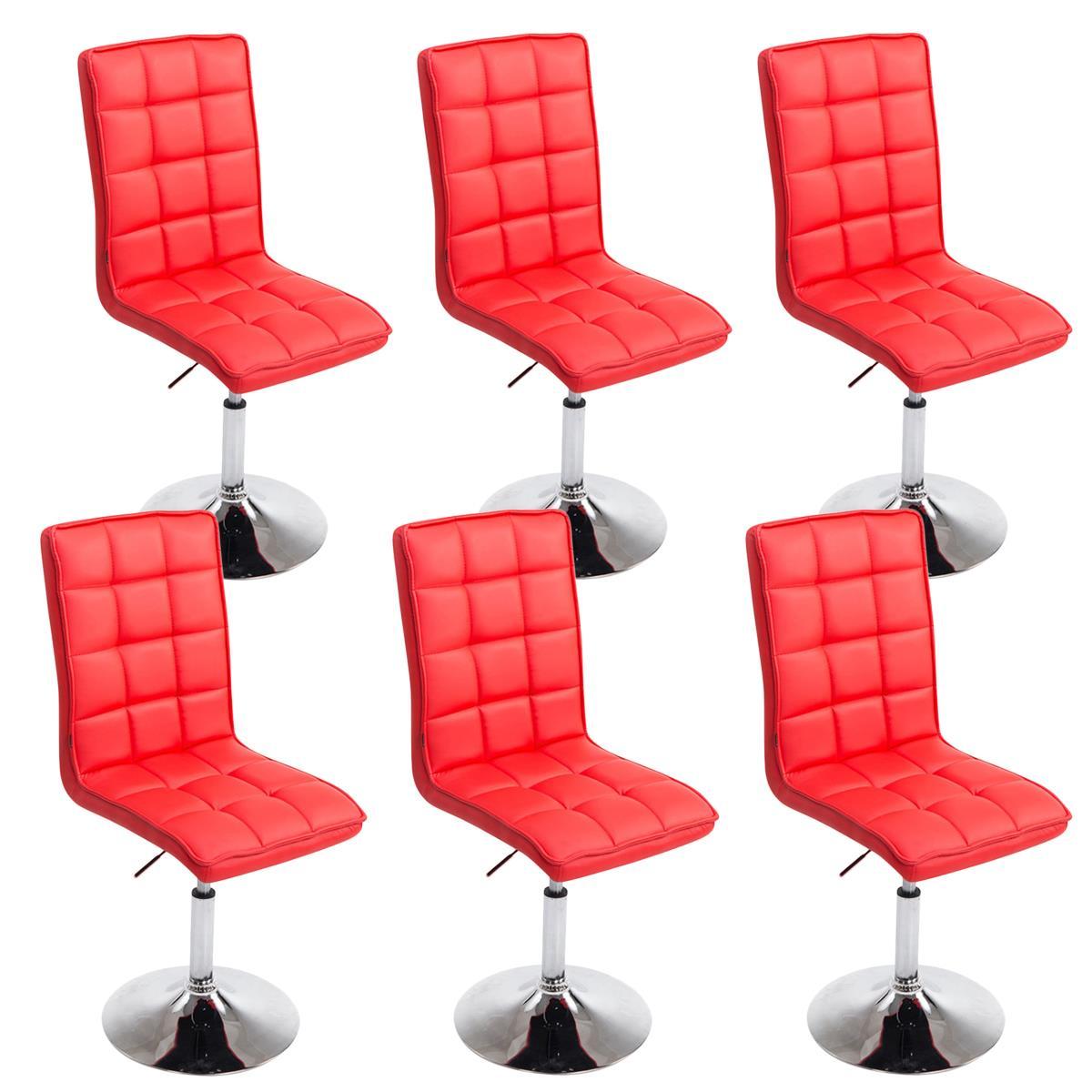 Conjunto de 6 sillas de comedor o cocina osuna piel en for Sillas de comedor de cuero