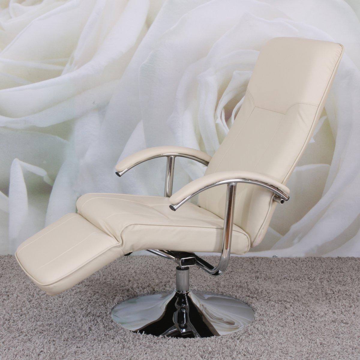 Sill n relax reclinable modelo apia ii en piel crema - Sillon reclinable piel ...