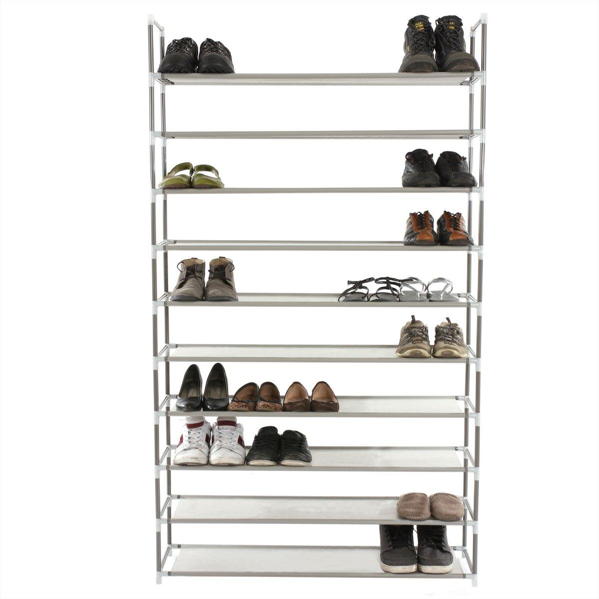 Zapatero para 50 pares de zapatos y 10 niveles for Zapatero para guardar zapatos