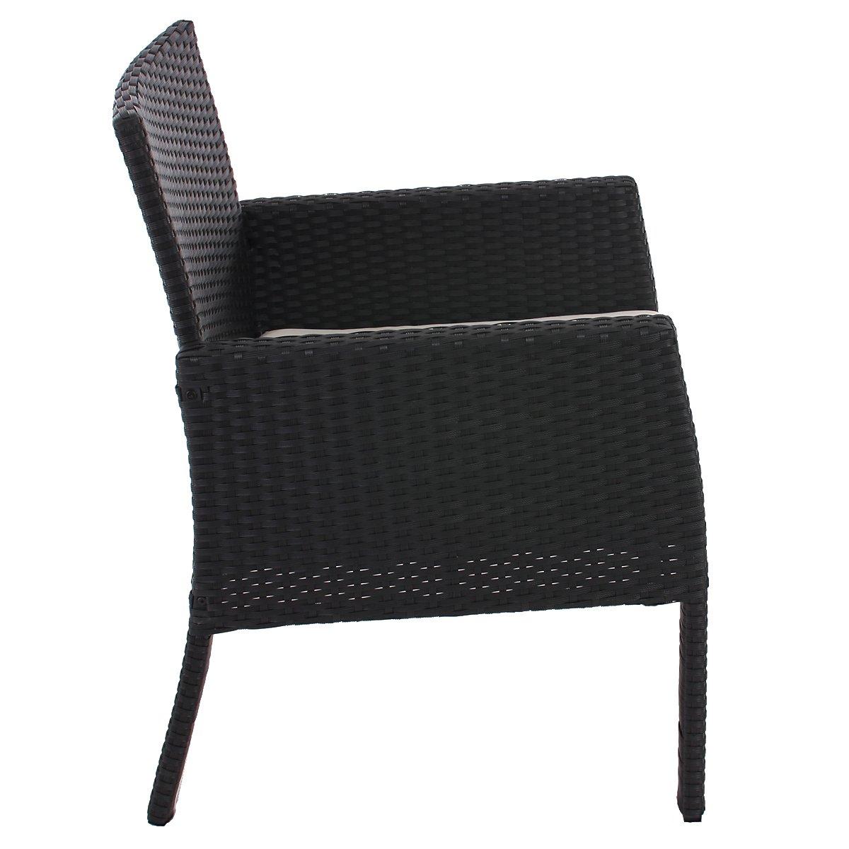 Lote 2 sillas de jard n sanremo en mimbre incluyendo - Cojines para sillas de jardin ...