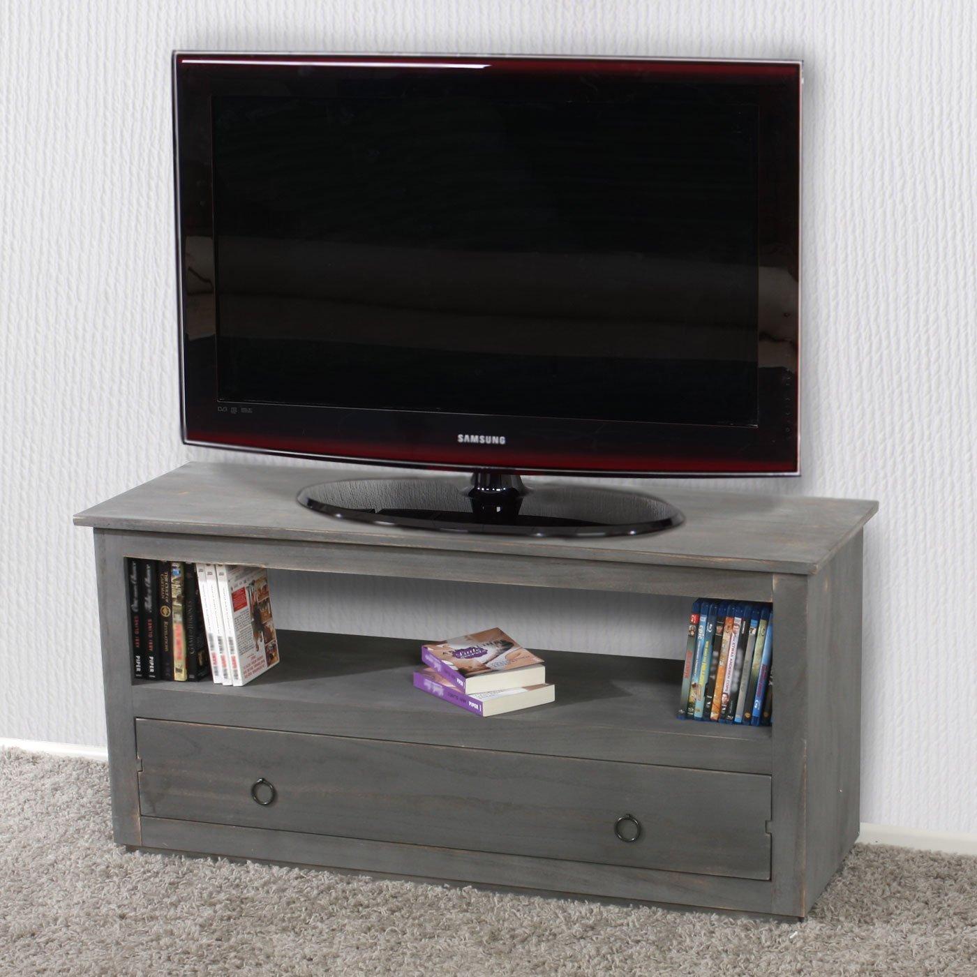 mesa para televisin en color gris diseo clasico