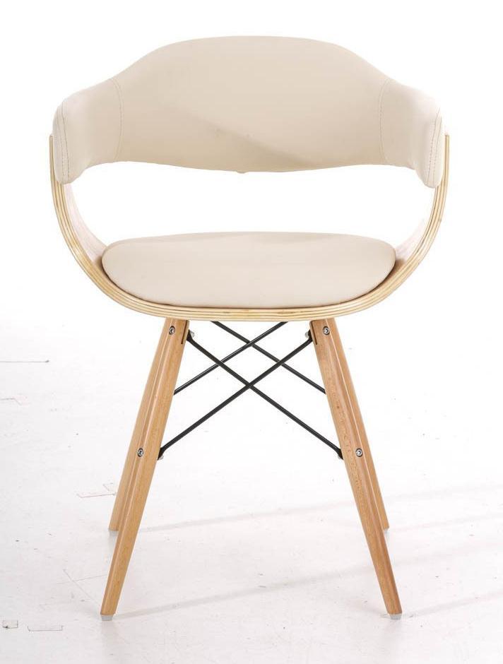 Silla barry precioso dise o moderno en madera y piel for Sillas de oficina diseno