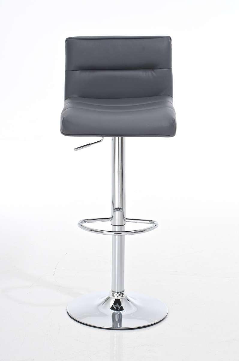Taburete de cocina nora altura ajustable asiento y - Taburetes de piel ...