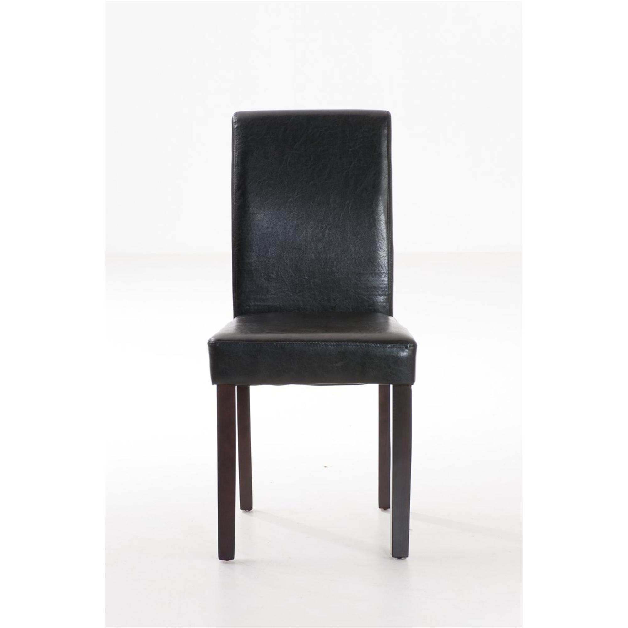 Lote de 6 sillas de comedor capri muy c modas y robustas for Sillas comedor cuero marron