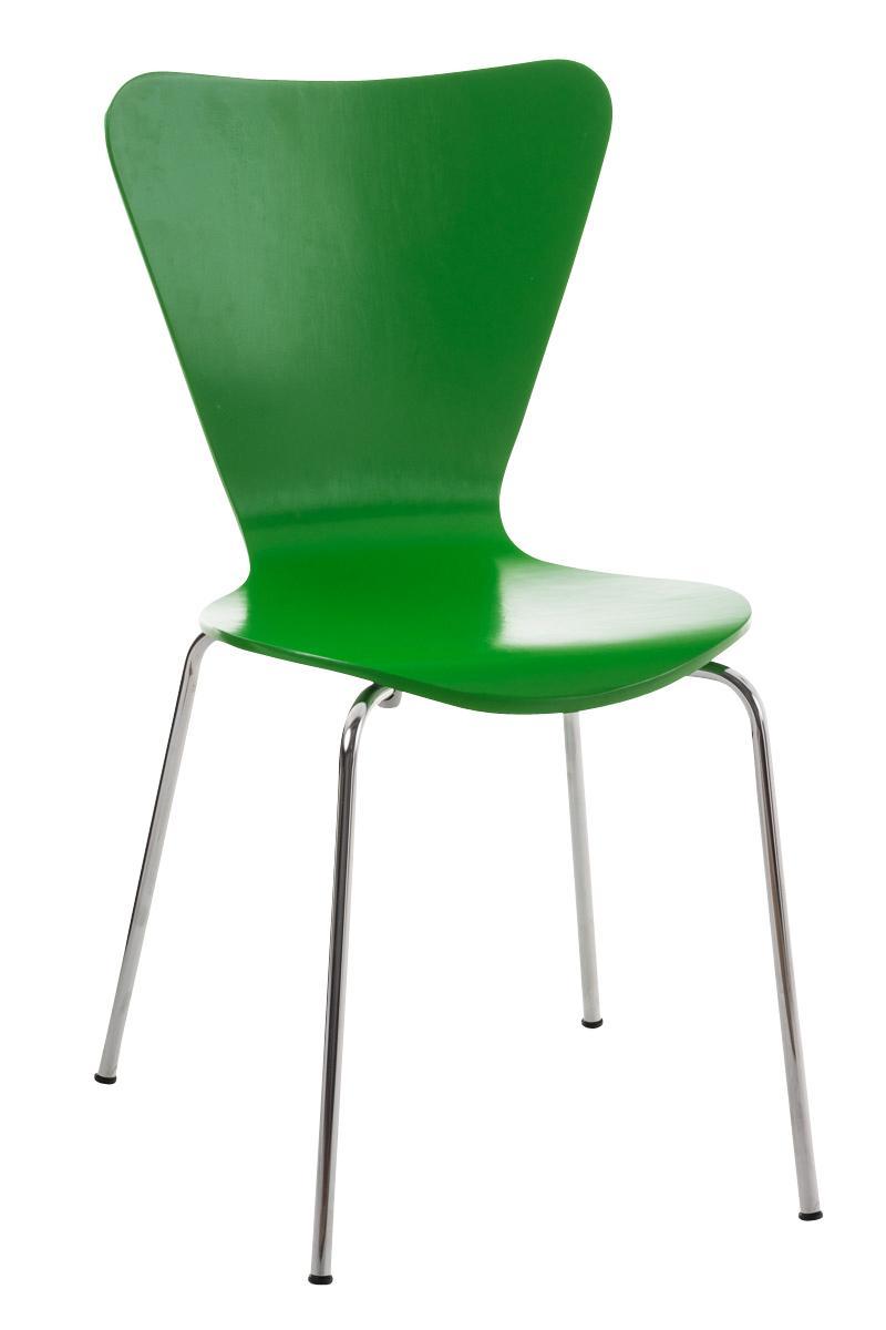 Lote 2 sillas de cocina o comedor lerma en verde lote 2 for Sillas apilables comedor