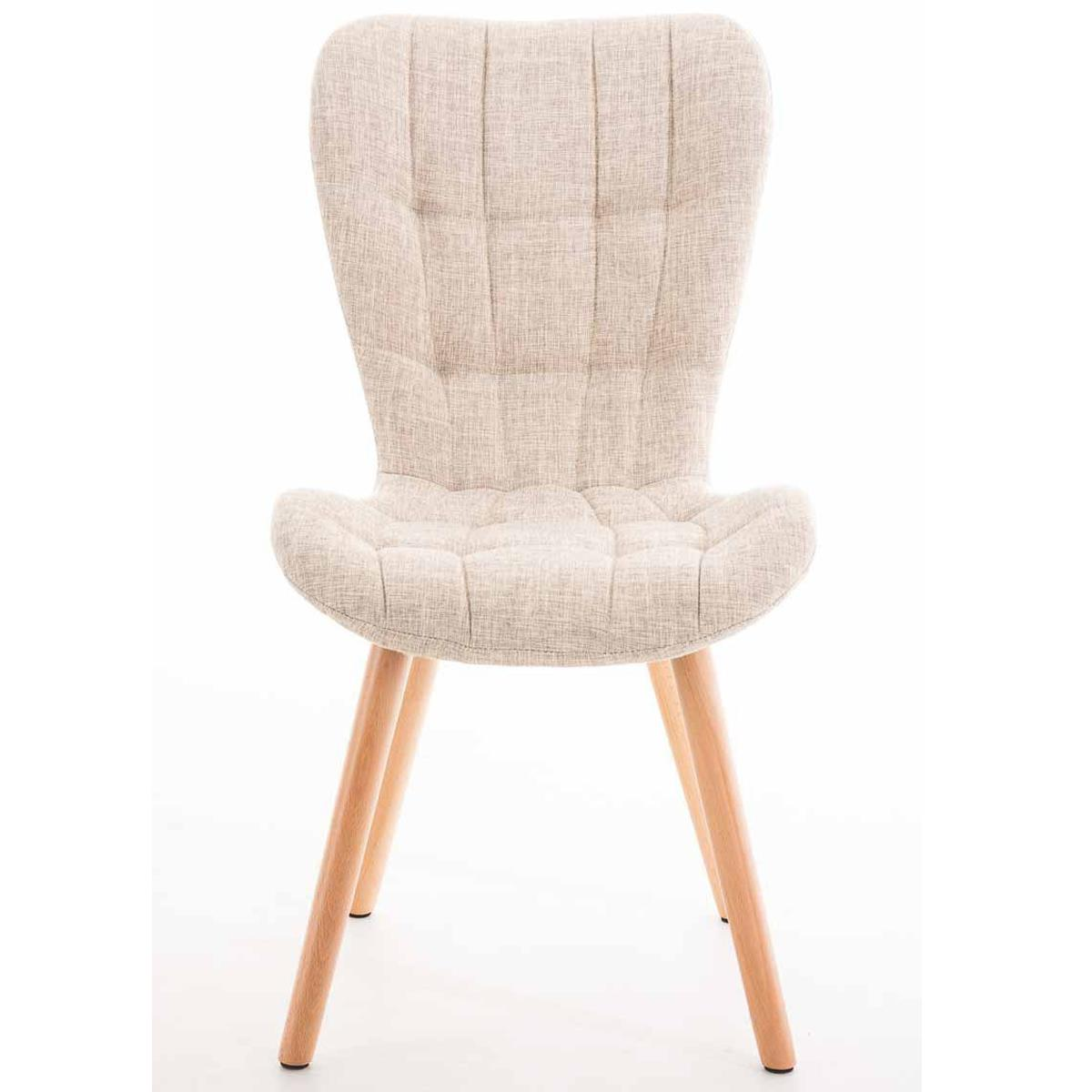 Lote de 4 sillas de comedor padua con capiton y for Sillas para comedor tapizadas en tela