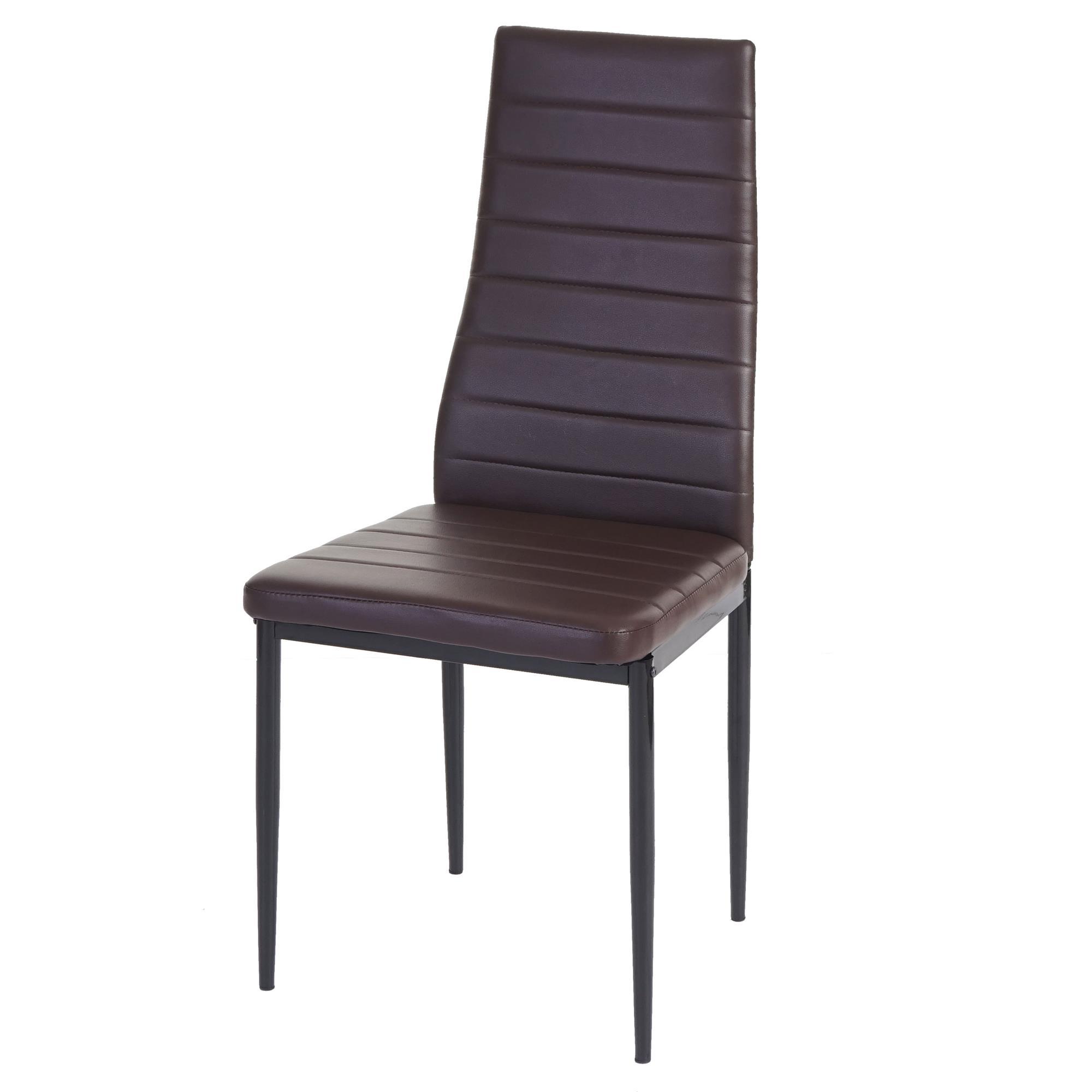 Lote 6 sillas de comedor o cocina kiros gran acolchado for Sillas de cocina tapizadas