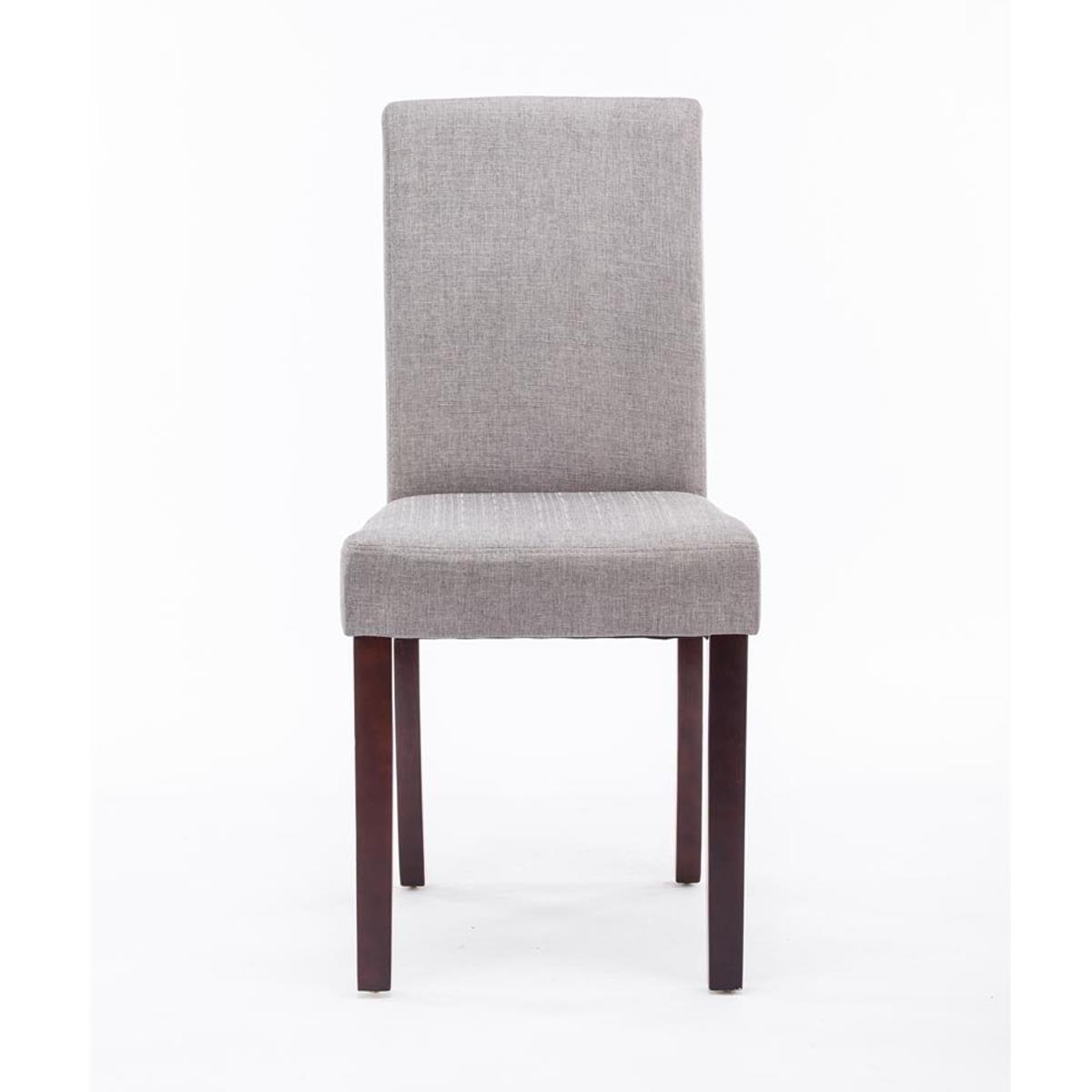 Conjunto de 6 sillas de comedor adria tapizadas en tela for Sillas para comedor tapizadas en tela