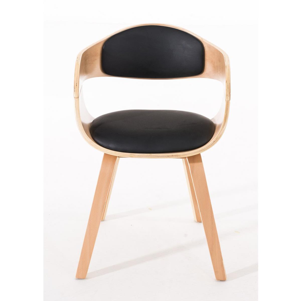 Conjunto de 6 sillas de comedor mafo tapizadas en piel for Sillas de comedor tapizadas en piel
