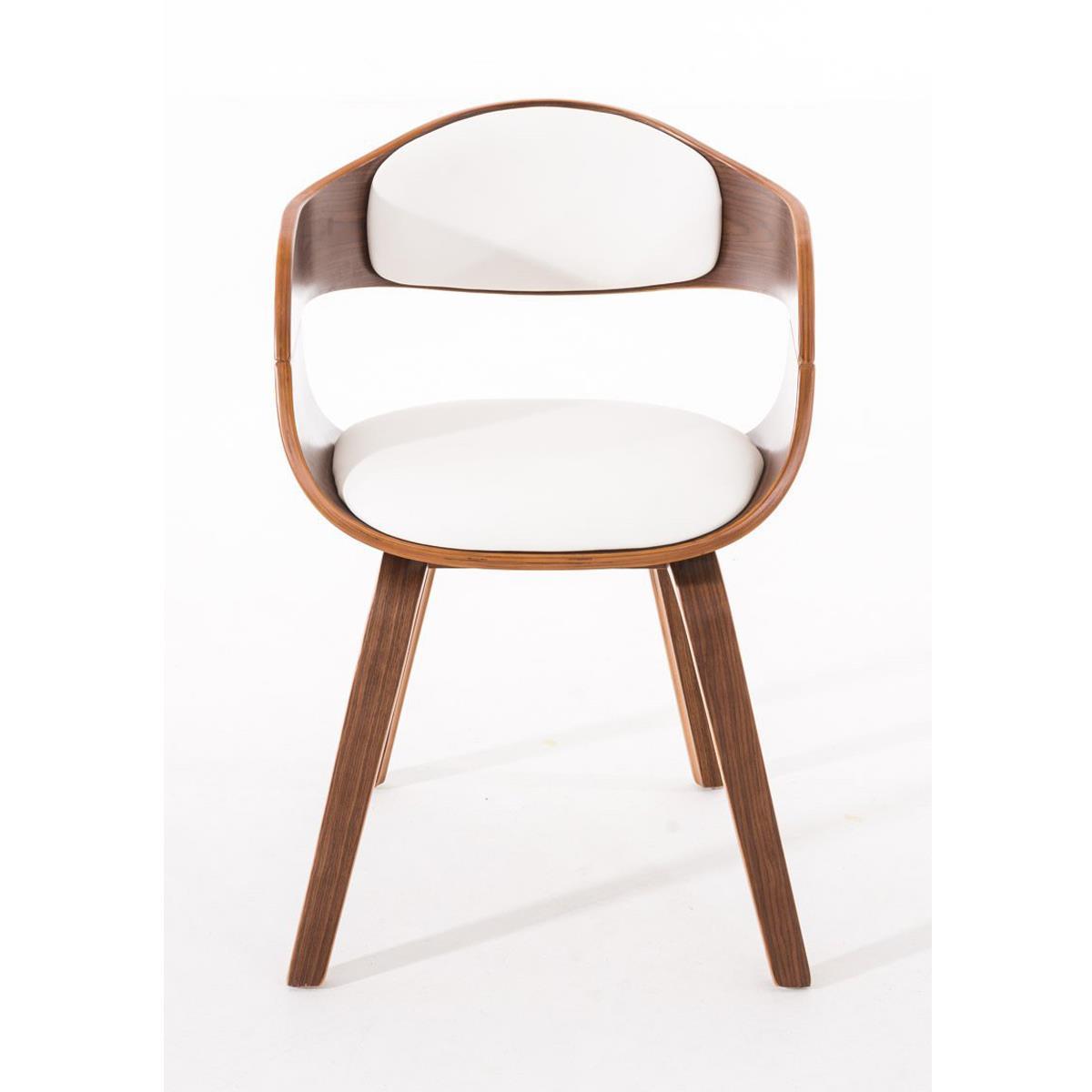 Conjunto de 6 sillas de comedor mafo tapizadas en piel for Comedor de madera 6 sillas