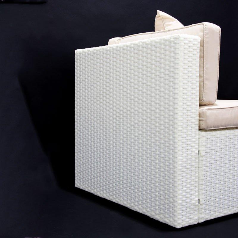 Sofa modular roma esquinero color crema blanco m dulo for Sofa modular esquinero
