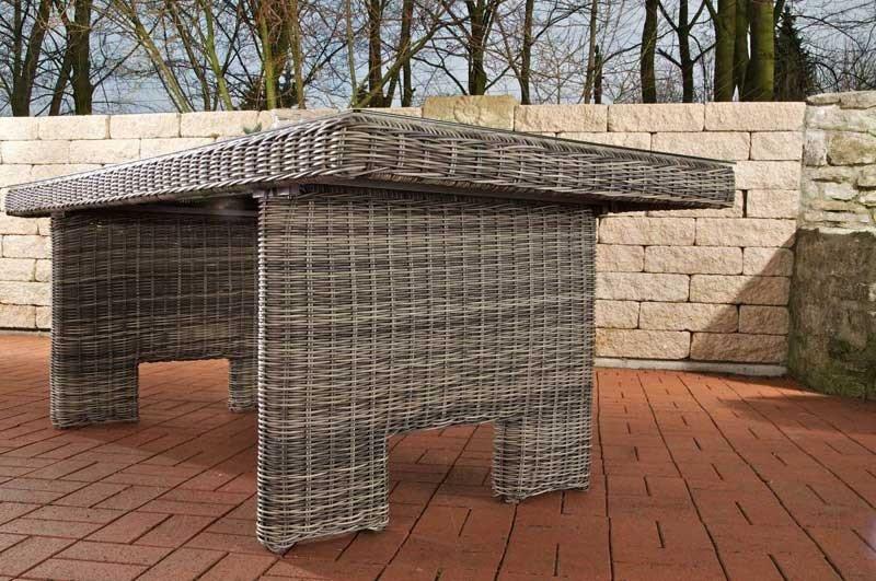 Conjunto de jardín Lujo ArenaNES, gris moteado - Conjunto Muebles de ...