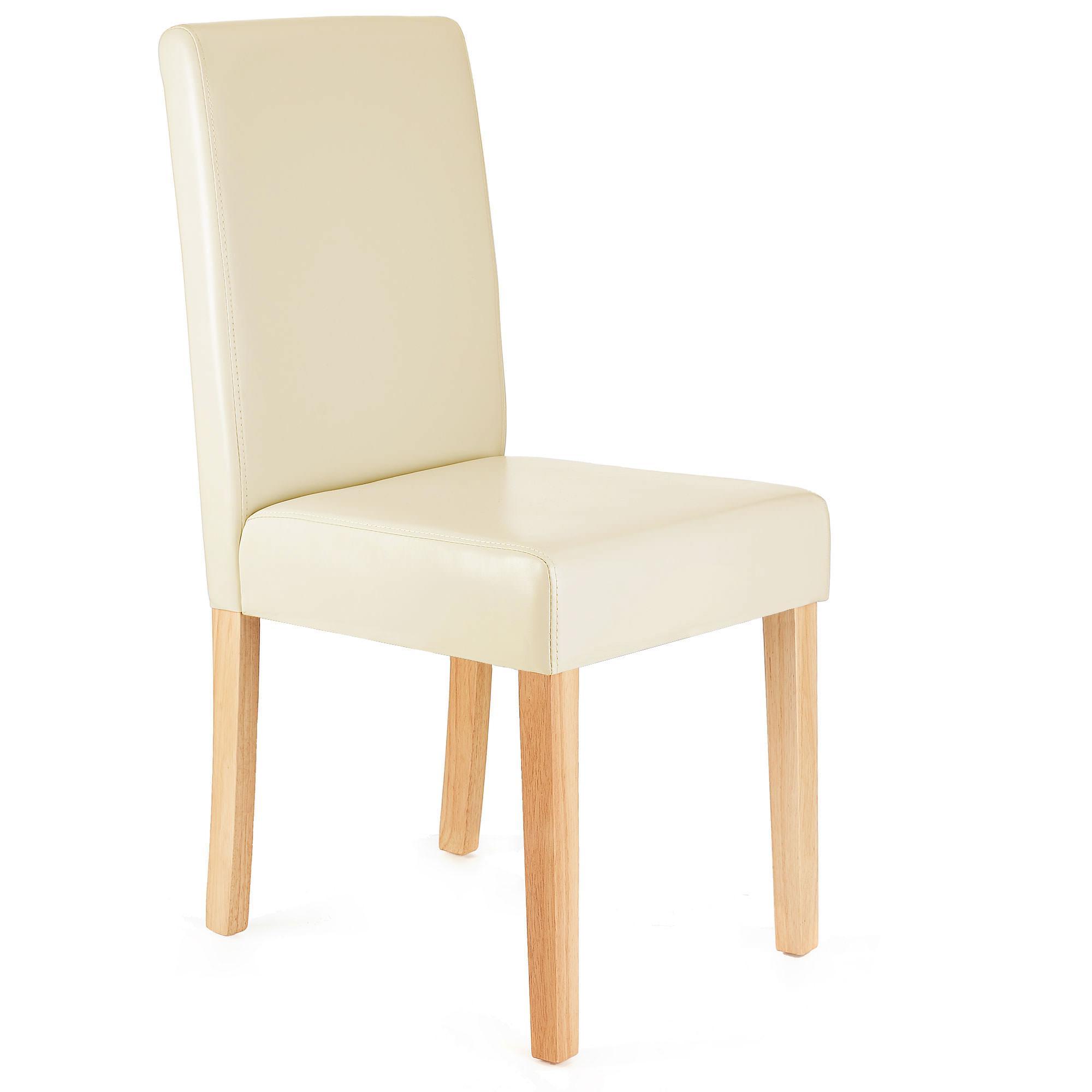 Lote 6 sillas de comedor litau piel natural lote 6 for Sillas de comedor tapizadas en piel