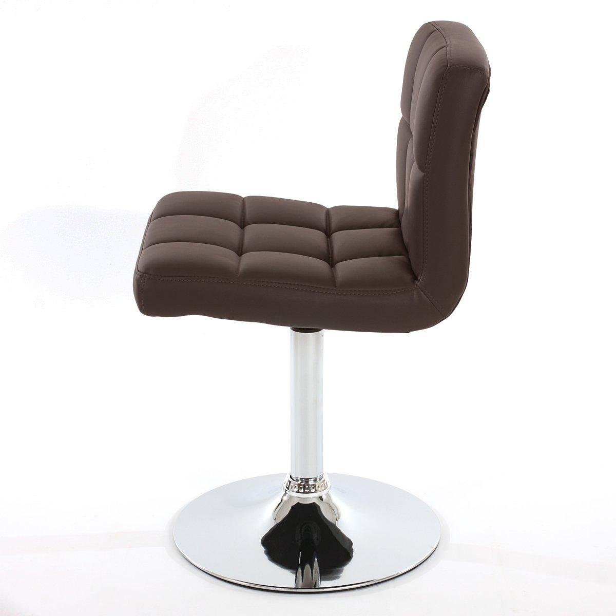 Conjunto de 2 sillas de cocina genova marr n conjunto for Sillas de escritorio comodas