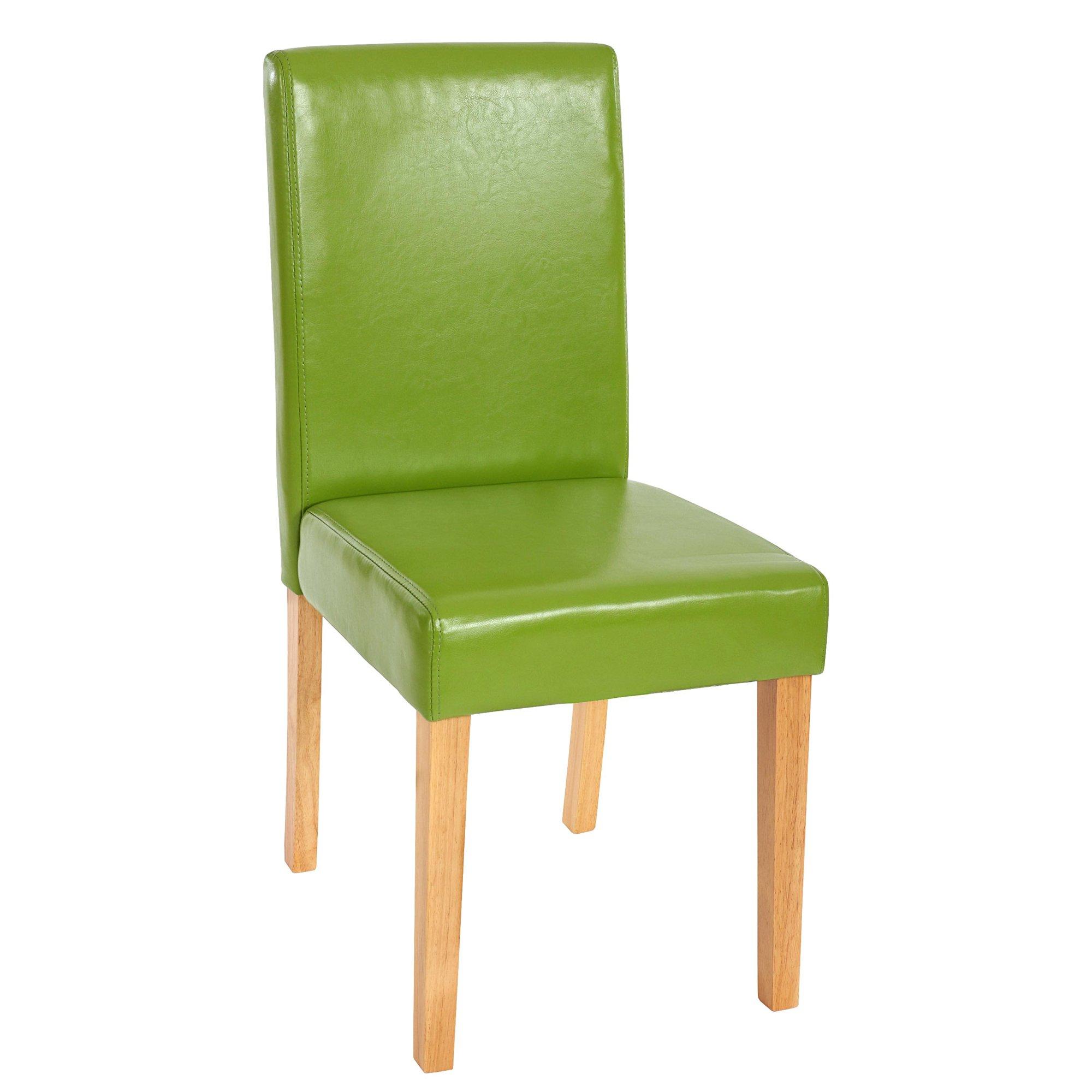Cojunto 6 Sillas de Comedor LITAU en color Verde - Conjunto de 6 ...