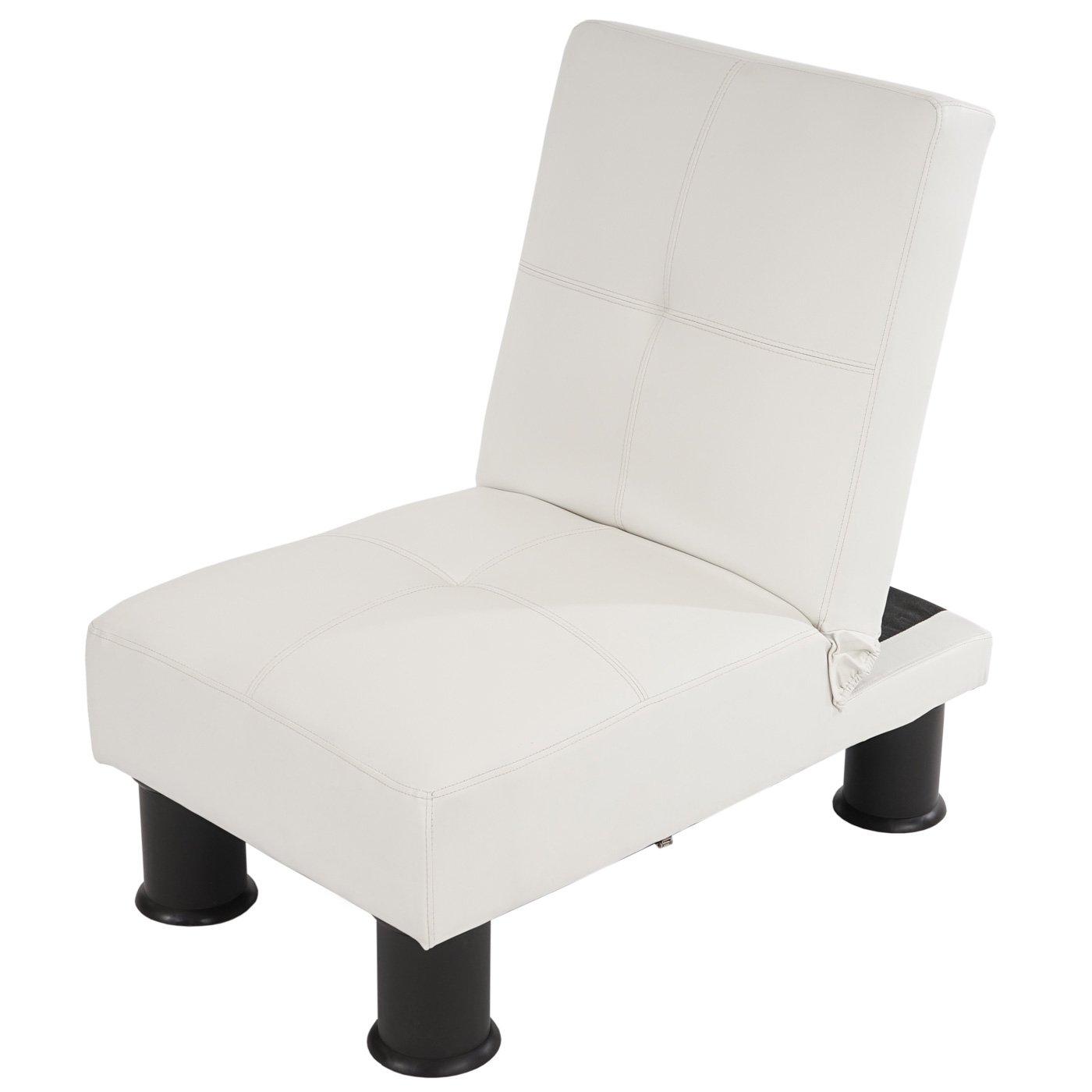 f0798cf1c Lote 3 modulos Sofa Cama MELBOURNE II en Piel color blanco - Homy.es