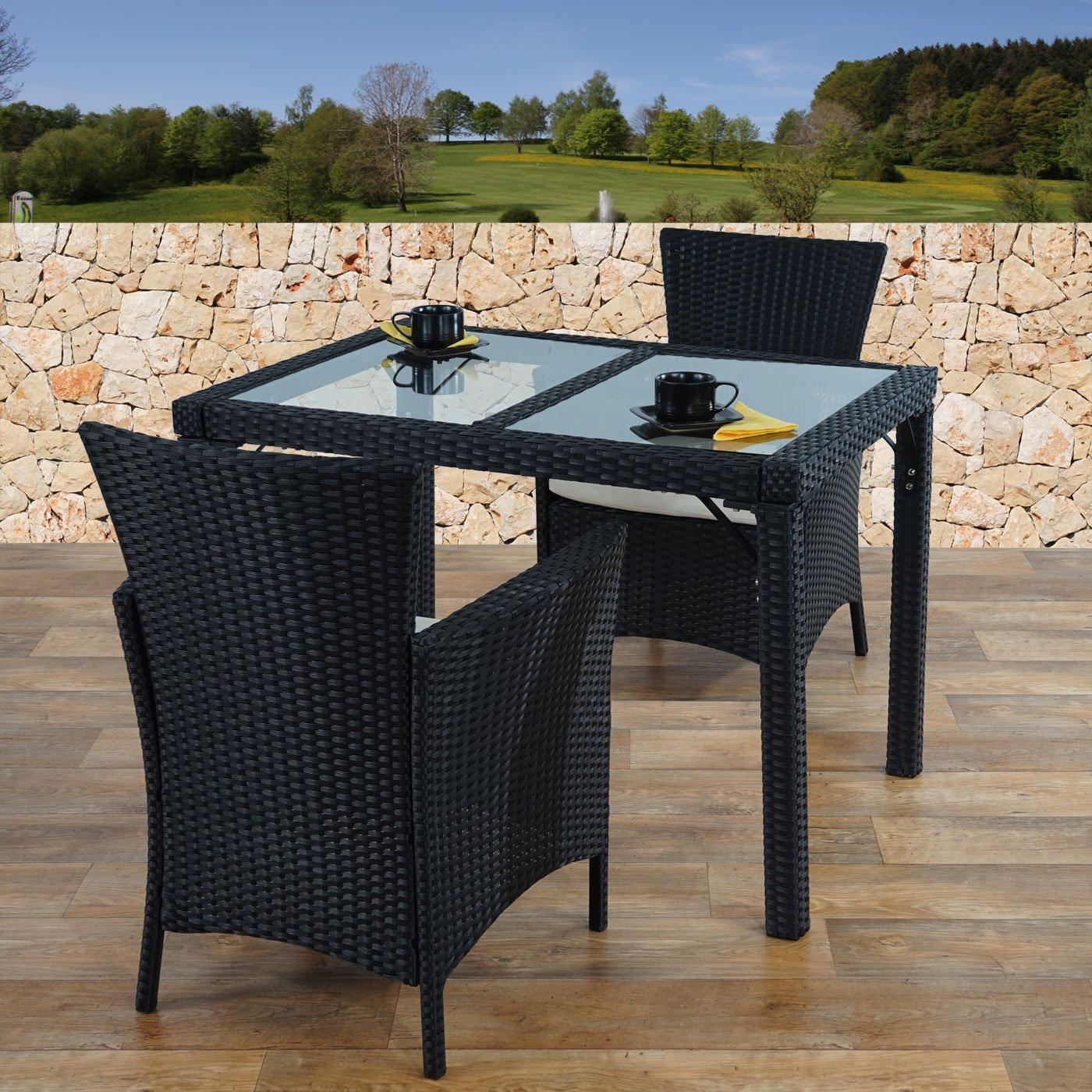 Mesa mesa de jard n romv poli rat n o wpc marco de for Mesa jardin aluminio