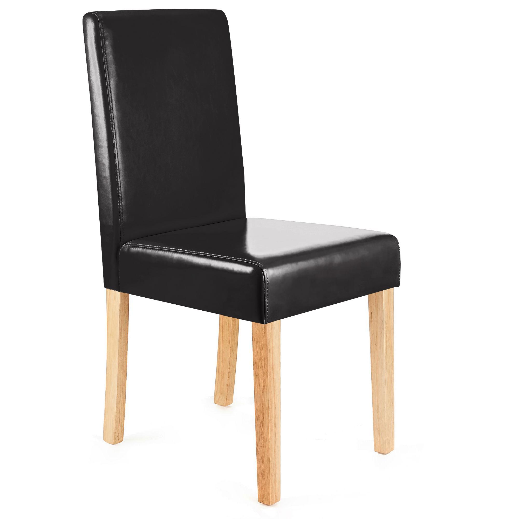 Lote 6 sillas de comedor litau precioso dise o piel - Sillas de comedor diseno ...
