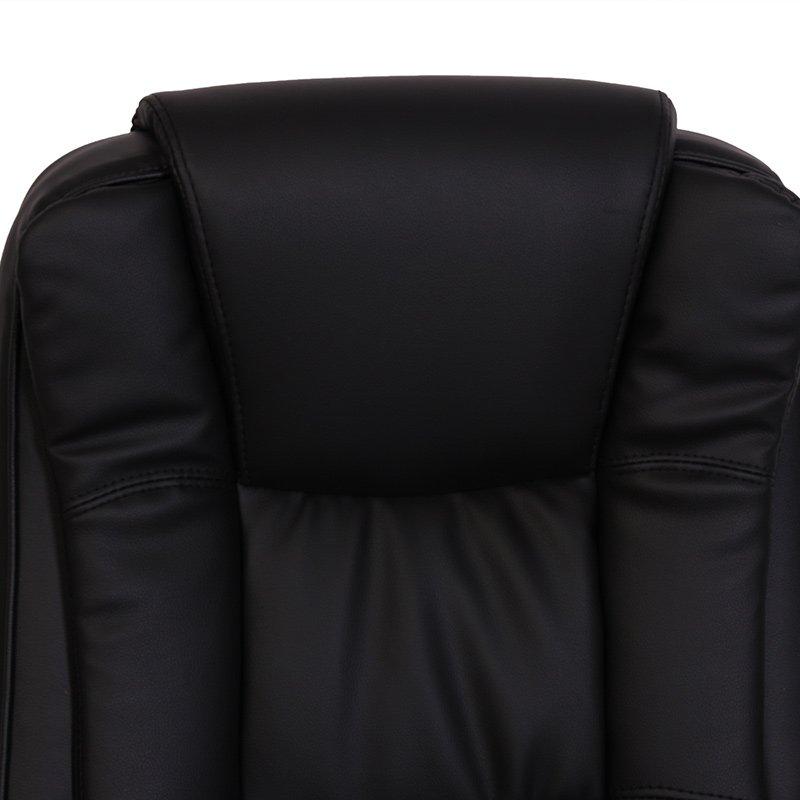 Silla de oficina n66 estructura met lica en piel negro for Material de oficina malaga
