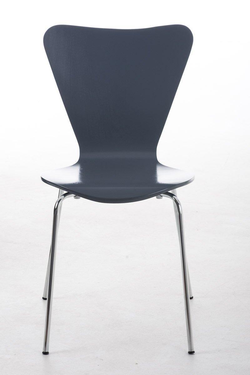 Lote 4 sillas de cocina o comedor lerma en gris lote 4 for Sillas comedor apilables