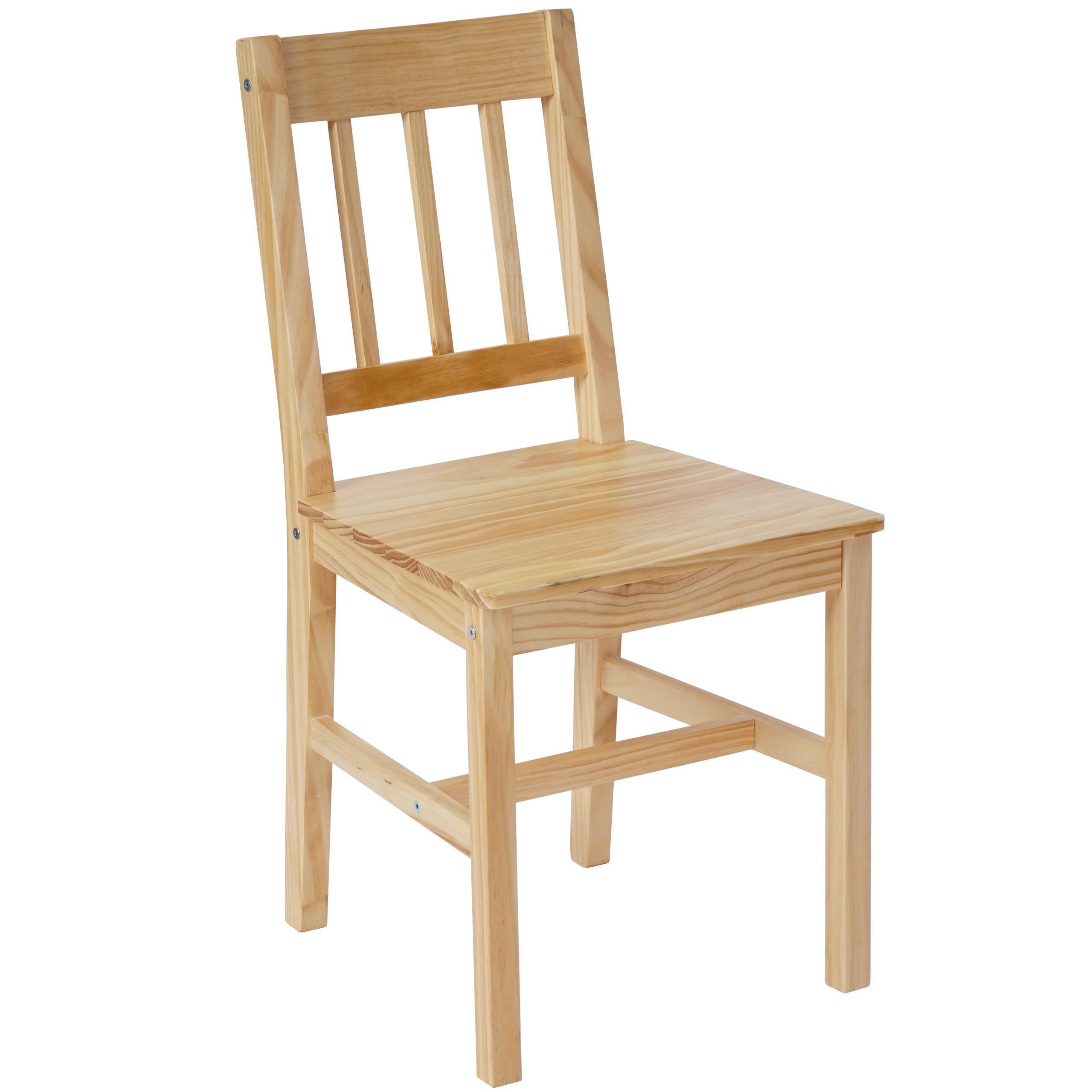 Sillas comedor madera silla comedor blanca con patas de for Sillas de madera