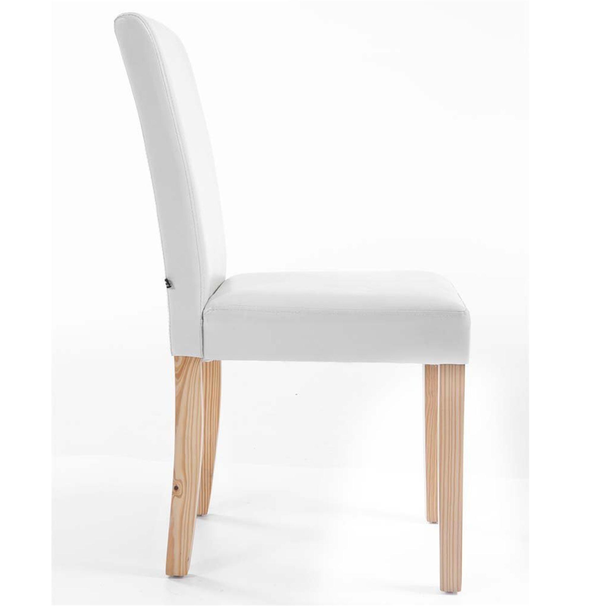 Lote de 2 sillas de comedor capri muy c modas y robustas for Sillas de comedor comodas