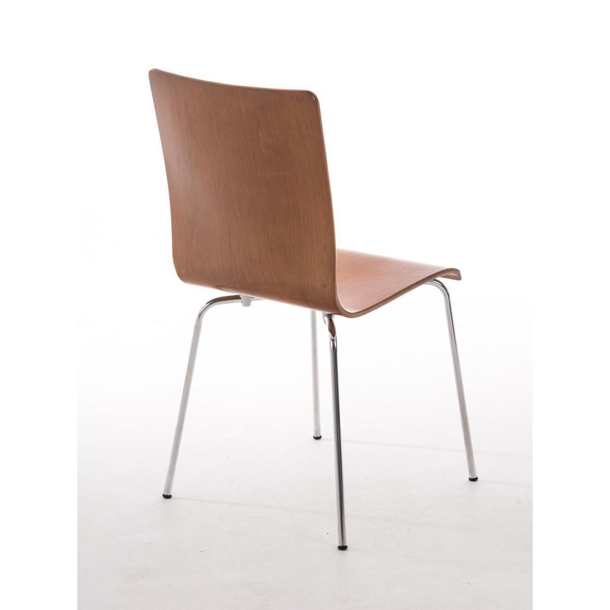 silla de cocina o comedor lodi en color marr n cerezo