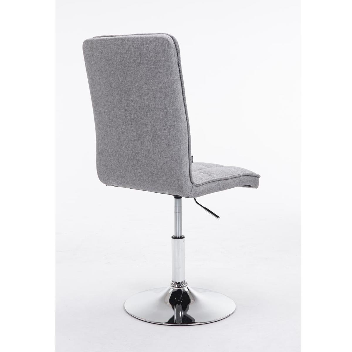 Conjunto de 6 sillas de comedor o cocina osuna en tela for Sillas de comedor color gris