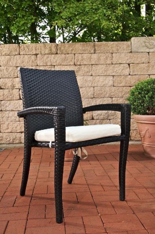 Conjunto de jard n bari mesa 90x90cm 4 sillas negro conjunto muebles de jard n barli en - Conjunto muebles de jardin ...
