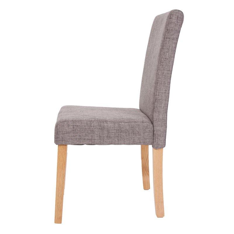 Lote 6 sillas de comedor litau tela precioso dise o tela for Sillas de tela comedor