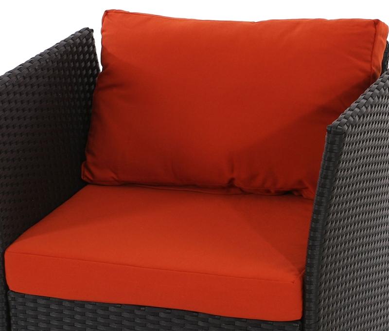 Conjunto sofa modular siena 6 1 en poly ratan gris natural for Sofa modular gris