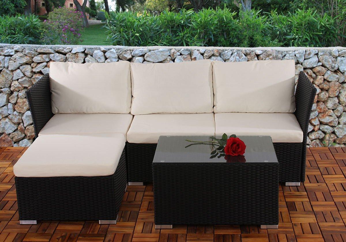 Conjunto de jardin siena sofa 2 sillones mesa - Conjuntos de jardin ...
