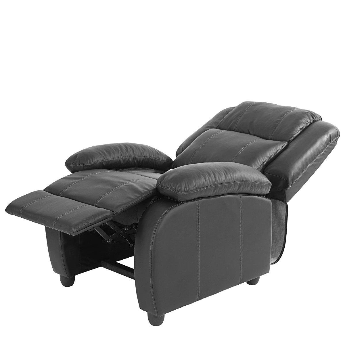 Sill N Relax Reclinable Lincon En Color Negro Sillon