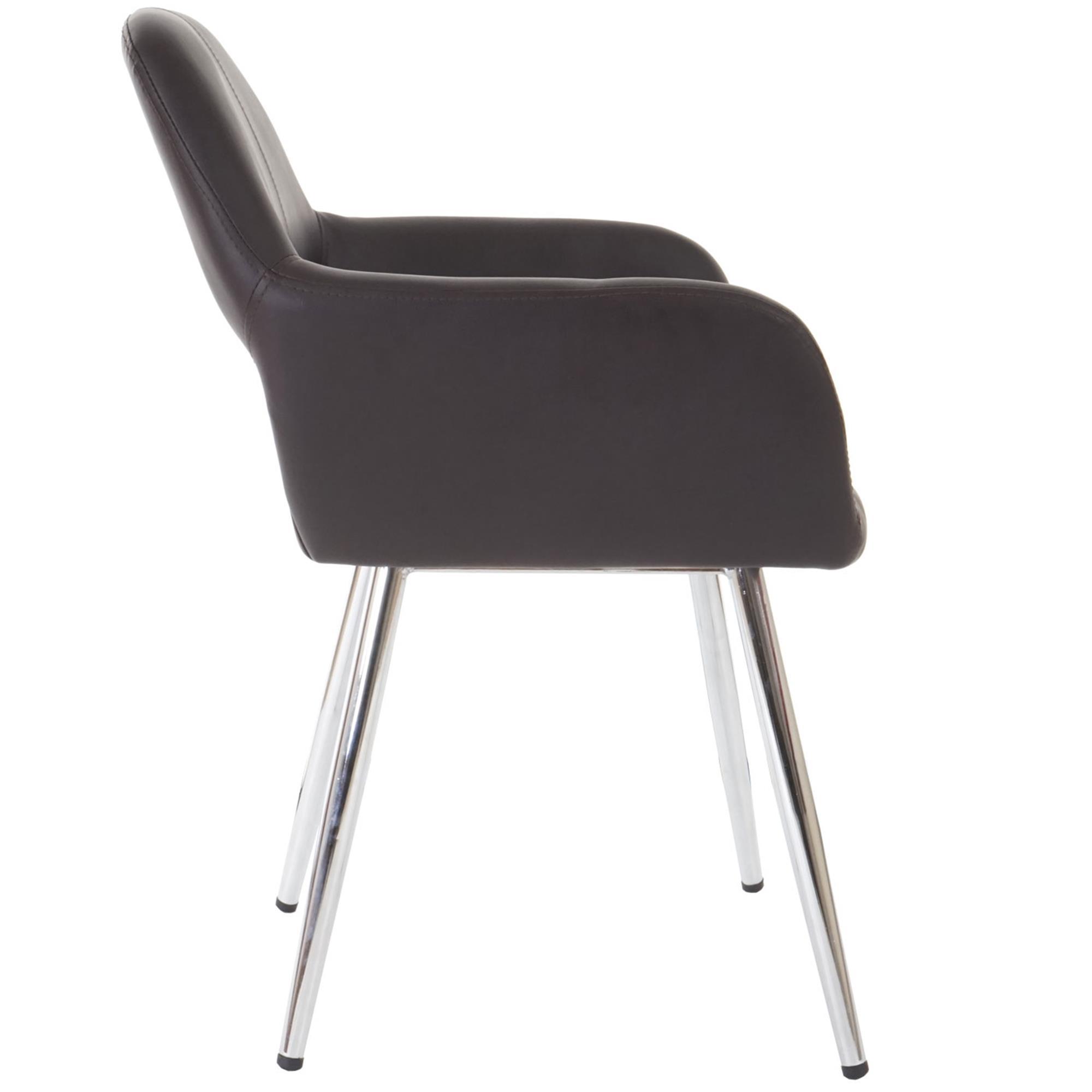 Lote 6 sillas de comedor o cocina calisa gran dise o con for Sillas de cocina cromadas