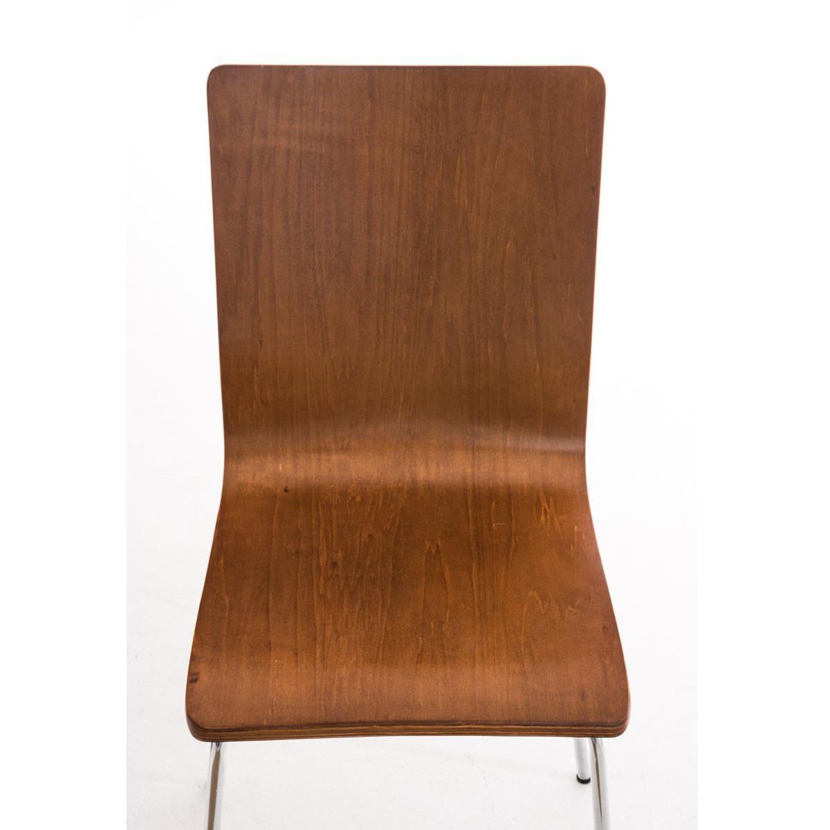 Conjunto de 4 sillas de cocina o comedor lodi en color for Sillas metalicas para comedor