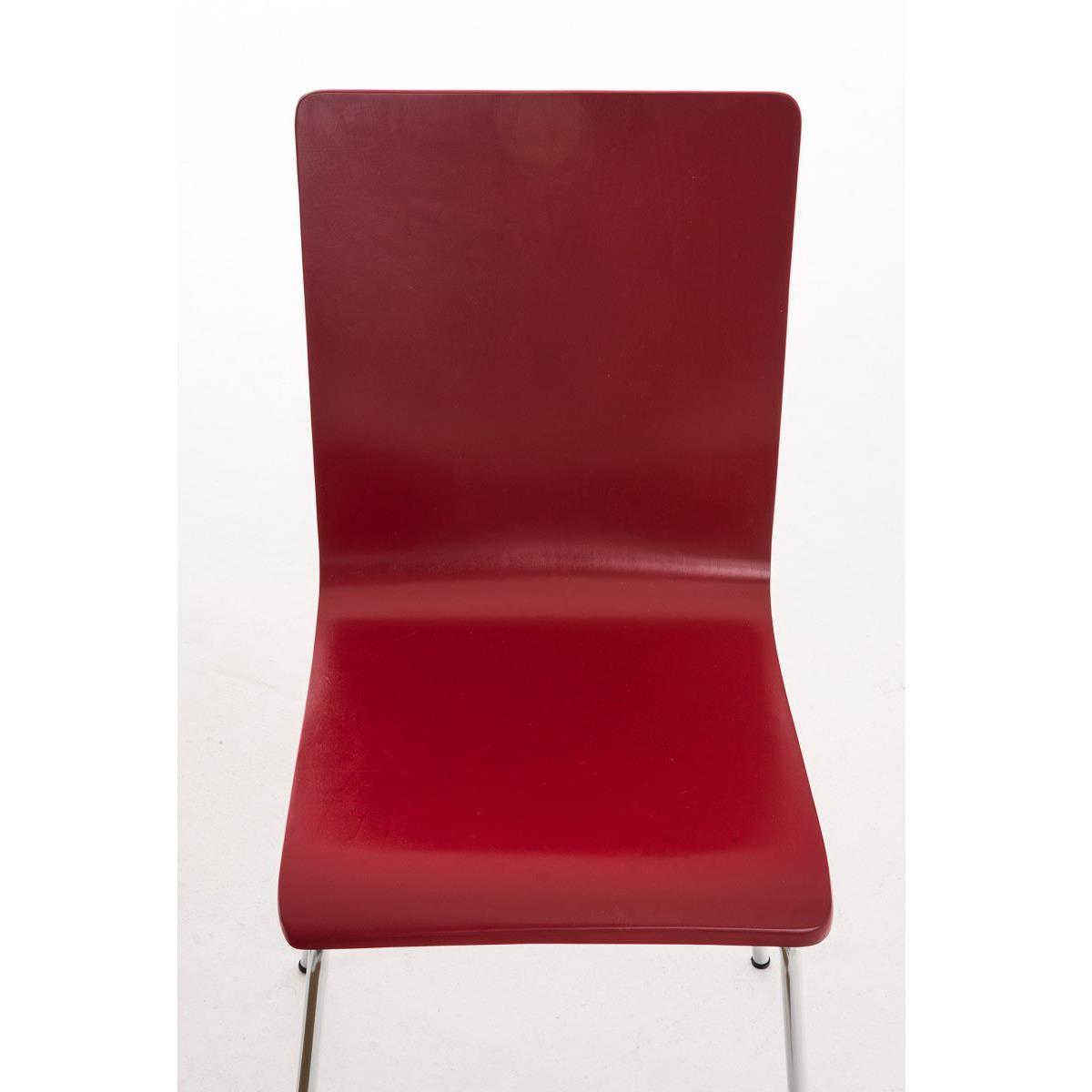 Silla de cocina o comedor lodi en color rojo silla de - Sillas comedor colores ...