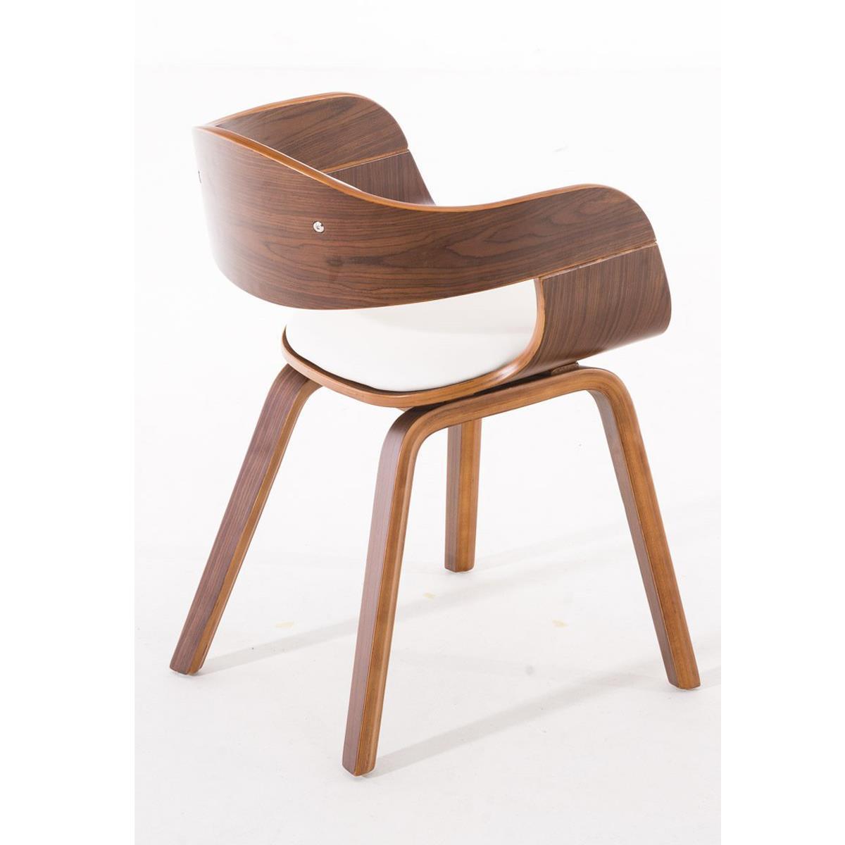 Conjunto de 6 sillas de comedor mafo tapizadas en piel for Sillas de piel para comedor