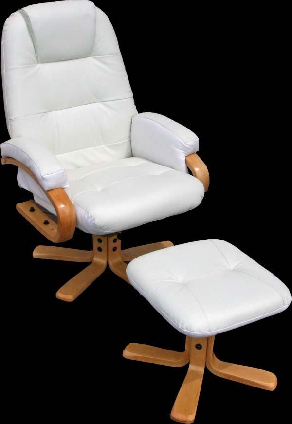 Sill n relax reclinable pescatori tapizado en piel color - Sillon reclinable piel ...
