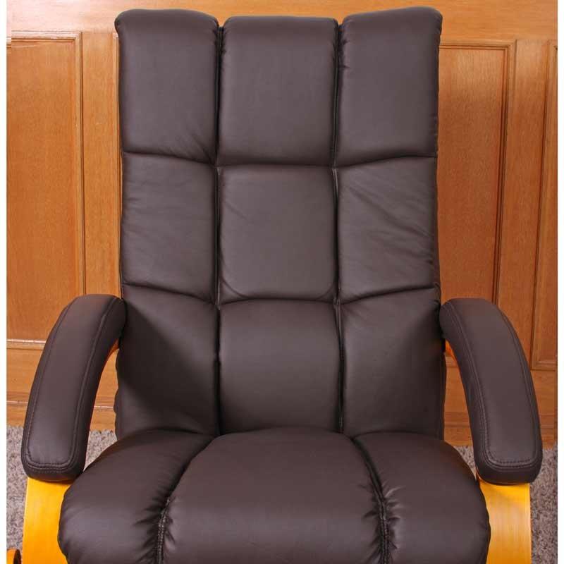 Sill n relax reclinable murano mas auxiliar otomano - Sillon reclinable piel ...
