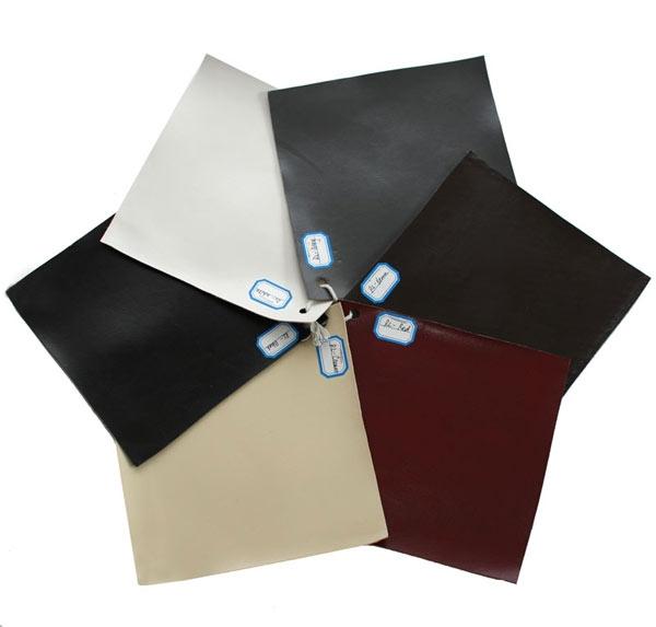 Lote 2 taburetes de madera y piel genuina lancy color crema - Taburetes de piel ...