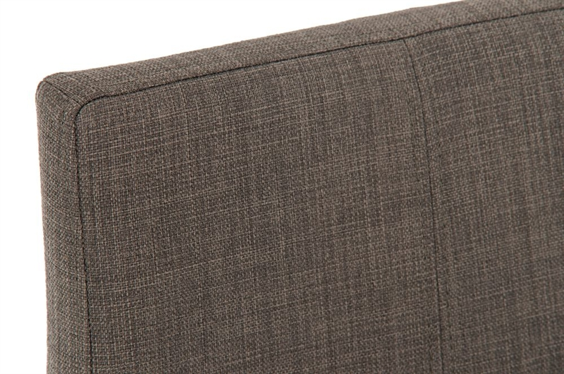 Taburete de dise o valeria plus en acero inoxidable altura ajustable tapizado en tela color gris - Color gris acero ...