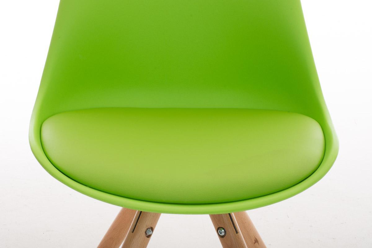 Lote 6 sillas TAYLOR, gran diseño, color verde - Lote 6 Sillas ...