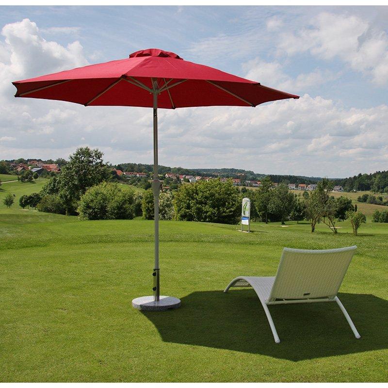 Sombrilla para terraza o jard n n19 en acero con - Sombrillas de terraza ...