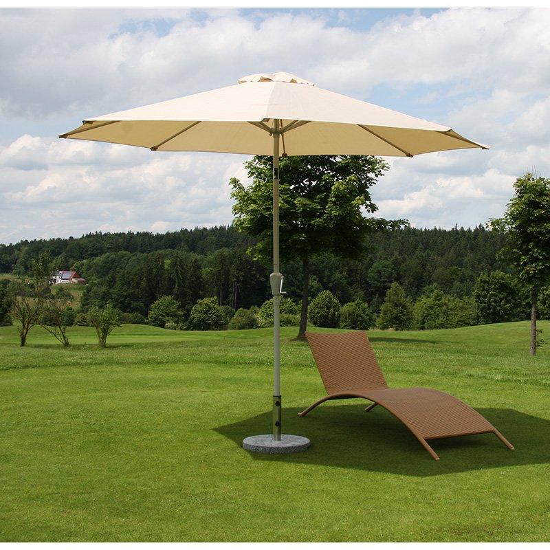 Sombrilla de jard n o terraza n18 d ametro 270cm - Sombrilla jardin ...