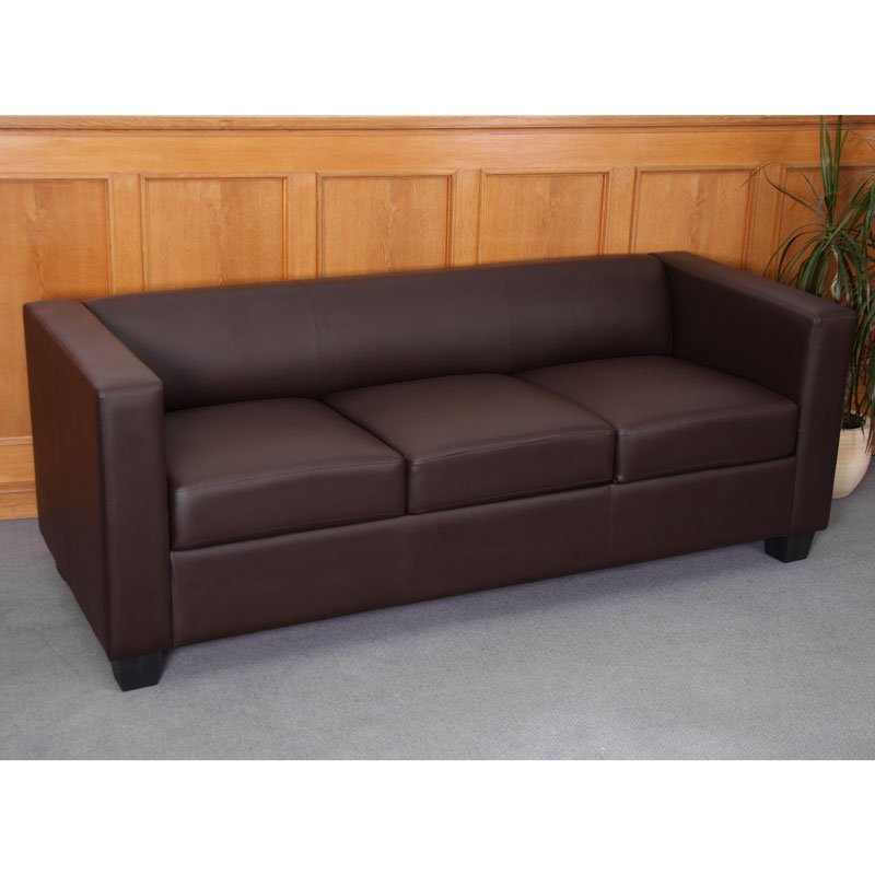 Conjunto sofas lille 1 sofa 3 plazas 2 sof s for Sofa 2 plazas polipiel