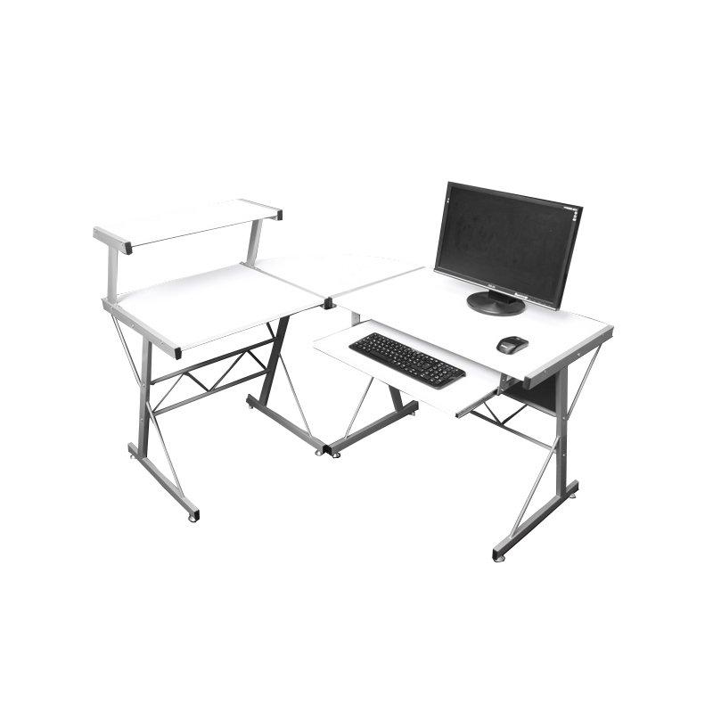 Escritorio mesa de ordernador nevada dimensiones for Dimensiones de un escritorio