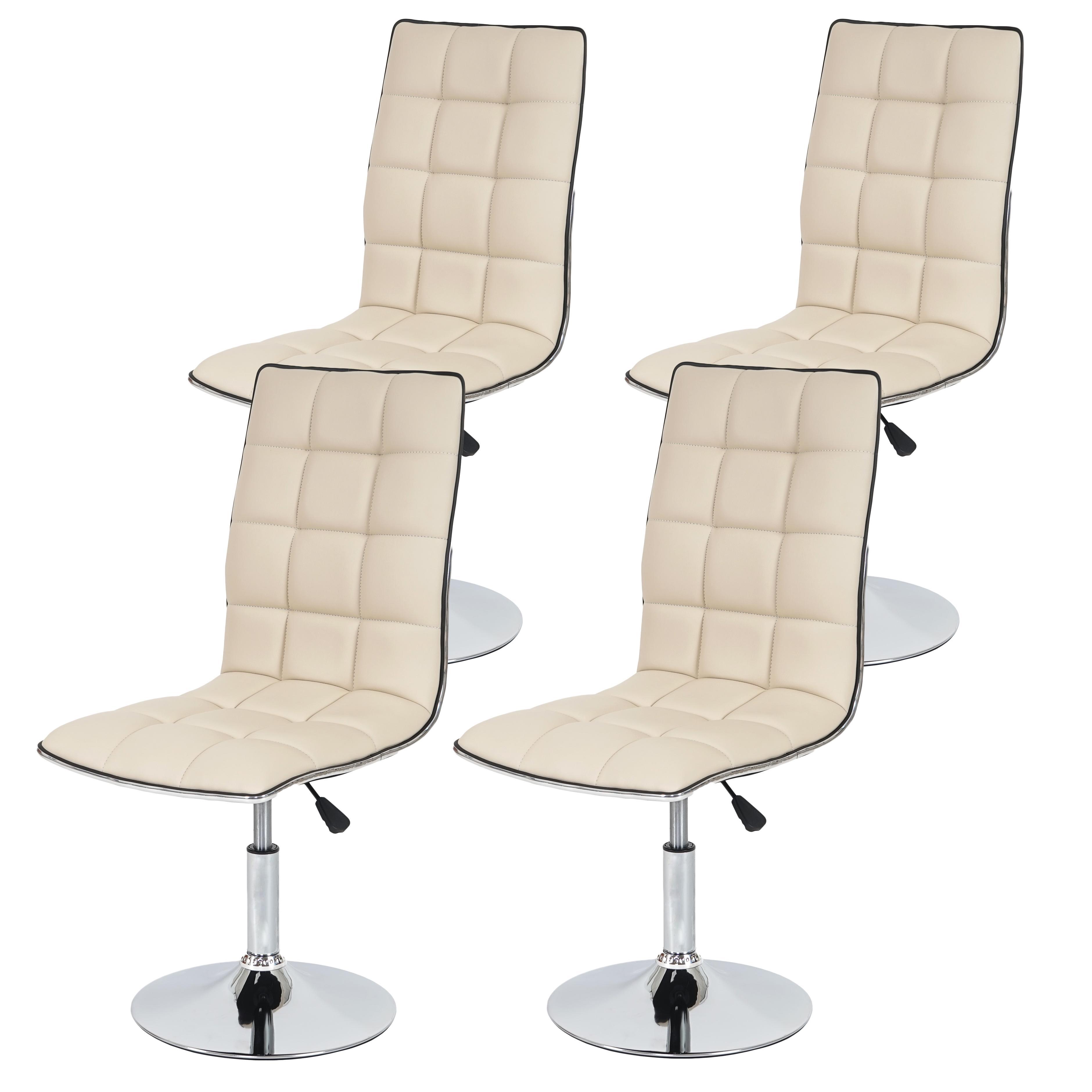 Conjunto de 4 sillas de Cocina GENOVA, Marrónes - Conjunto de 4 ...
