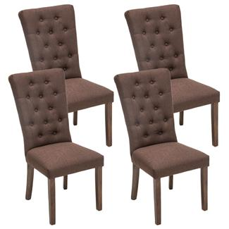 Sillas tapizadas de comedor comedor rustico sillas mesa x for Sillas tapizadas en tela