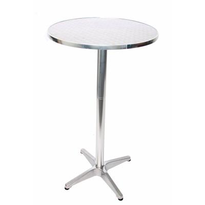 Mesa de Bar, dimensiones 70/110cm, altura ajustable, diámetro 60cm, plegable